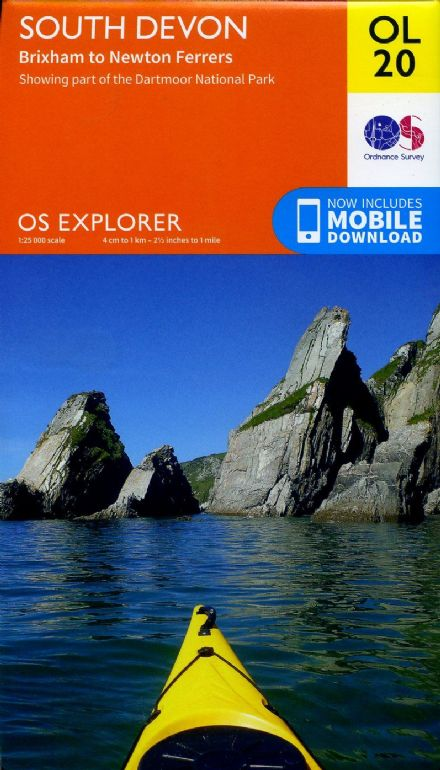 OS Explorer OL 20 South Devon
